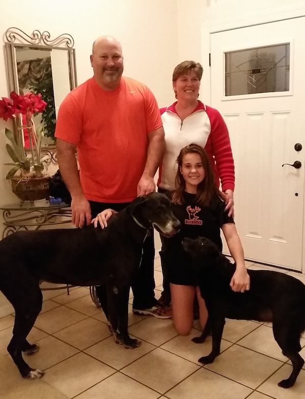 great-dane-black-family